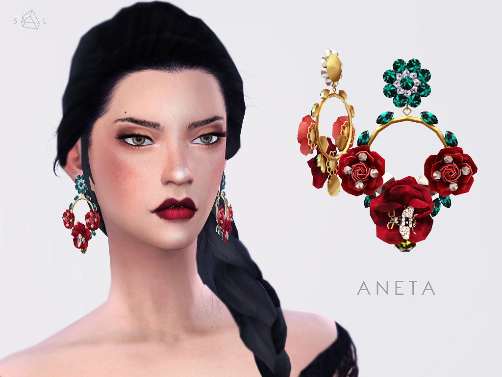 Earrings - ANETA (Dolce&Gabbana) by Starlord