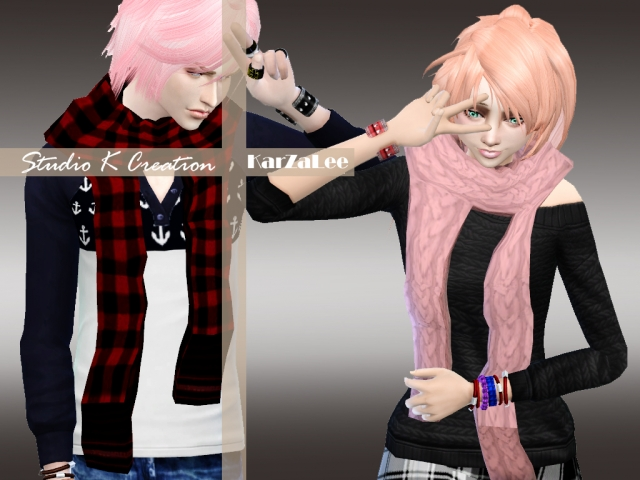 Long Scarf for Males & Females by Karzalee