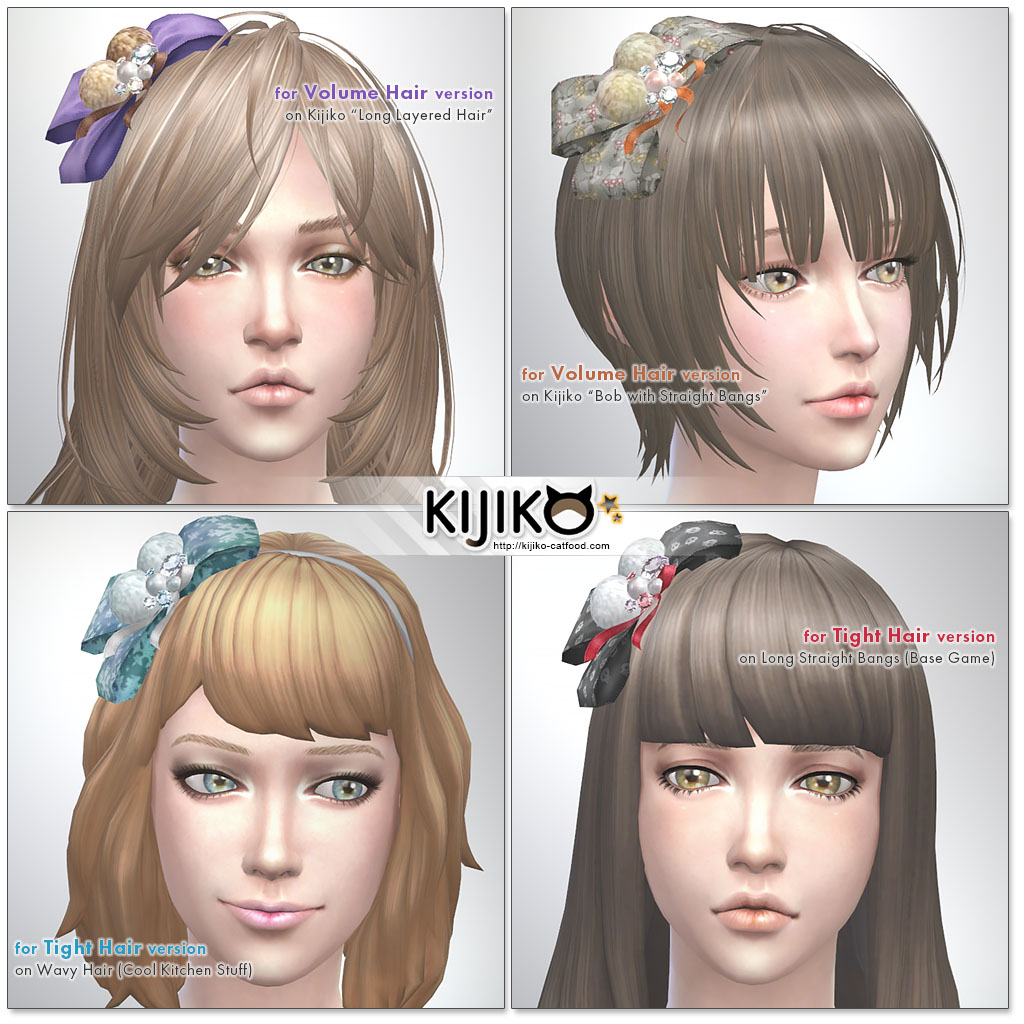 Ribbon Hair Accessory by Kijiko