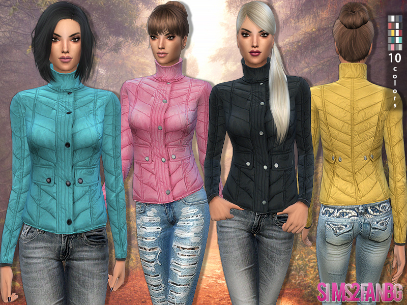 75 - Down Jacket BY sims2fanbg