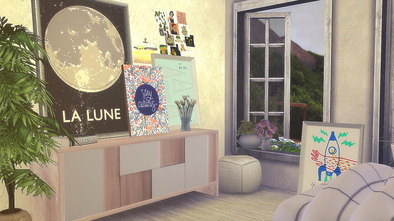 TS3 Leaning Art Conversions by Rachel