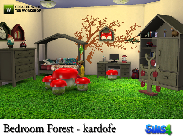 Bedroom Forest by kardofe