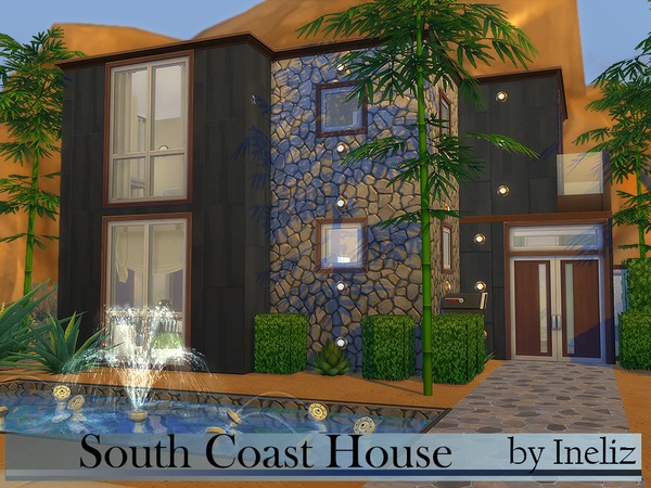 South Coast House by Ineliz