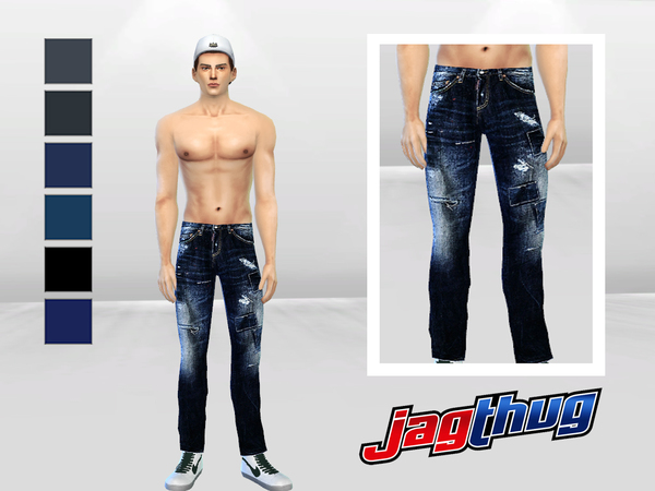 Fix And Patches Denim Jeans by McLayneSims