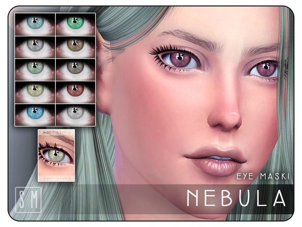 [ Nebula ] - Eye Mask by Screaming Mustard