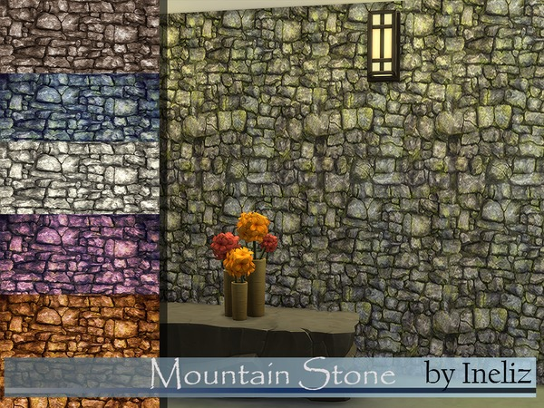 Mountain Stone by Ineliz