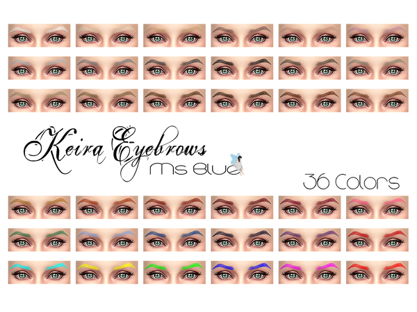 Keira Eyebrows by Ms Blue