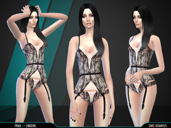 Prail Lingerie by SIms4Krampus