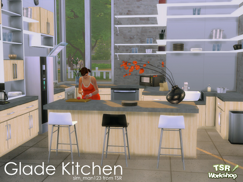 Glade Kitchen  BY sim_man123