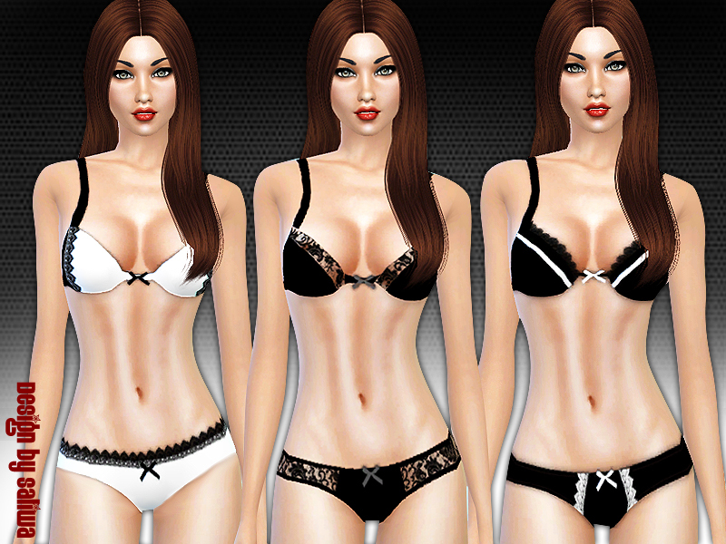 Passion Lingerie Set 003  BY Saliwa