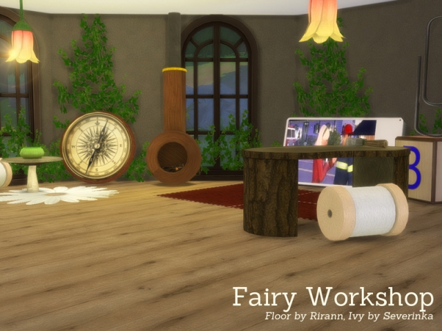 Fairy Workshop by Angela