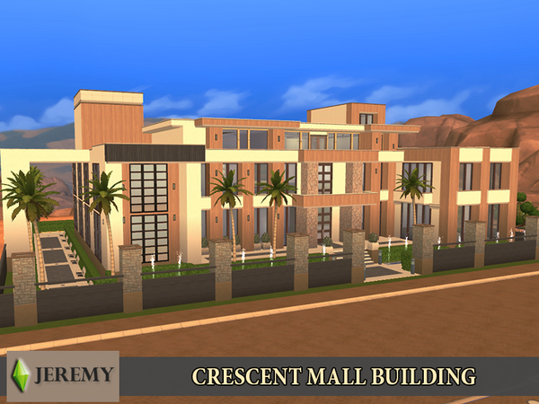 Crescent Mall Building by jeremy-sims92