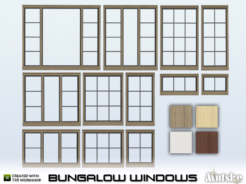 Bungalow Windows  BY mutske