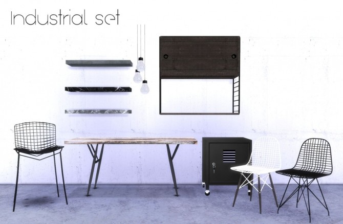 INDUSTRIAL SET 1 By HVIKIS