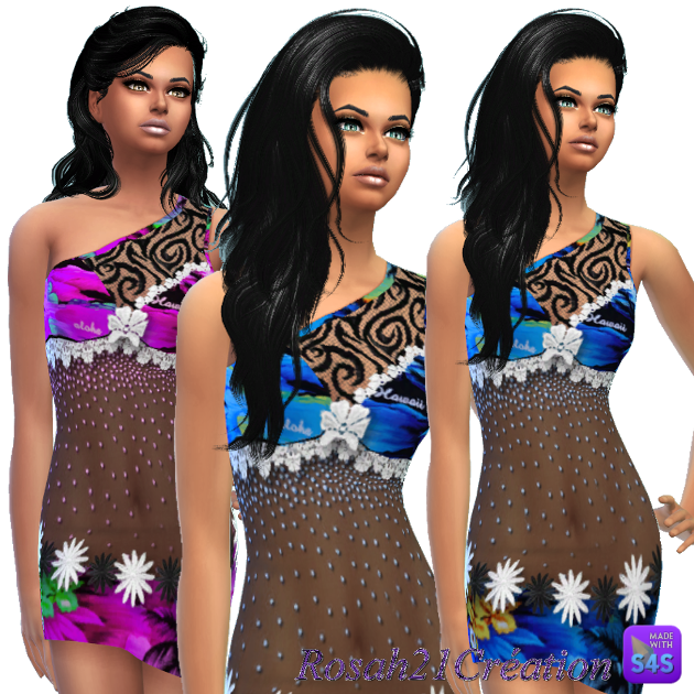 Vacances  Hawaii  By SIMS DENTELLE