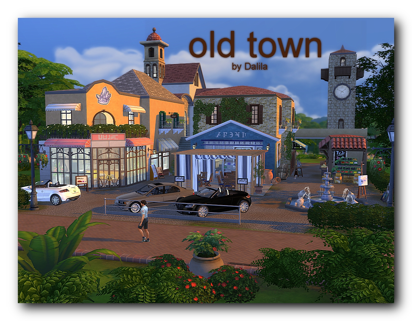 Old town by Dalila