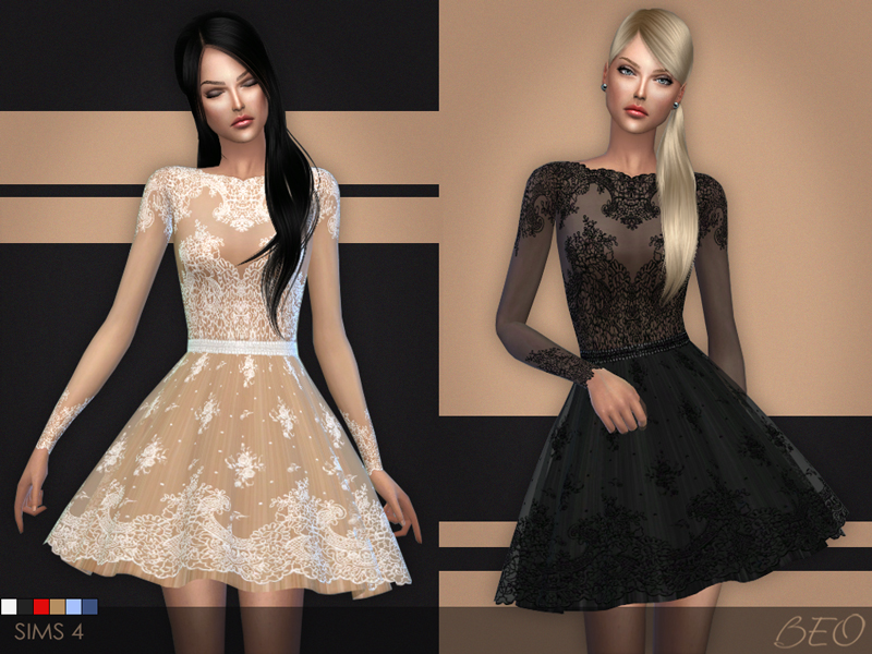 Short Lace Dress by BEO