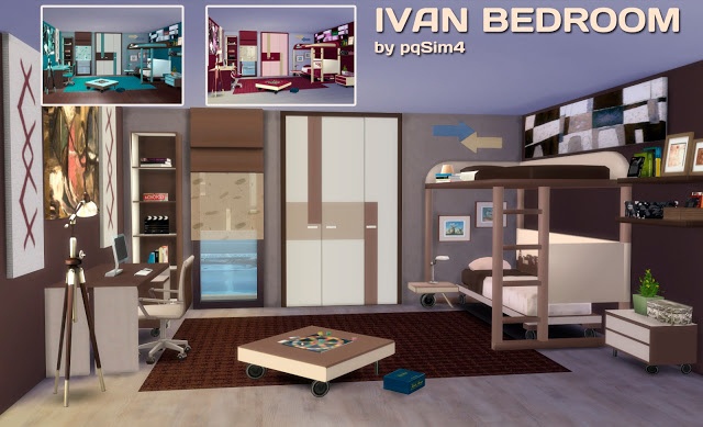 IVAN BEDROOM By PQSIMS4