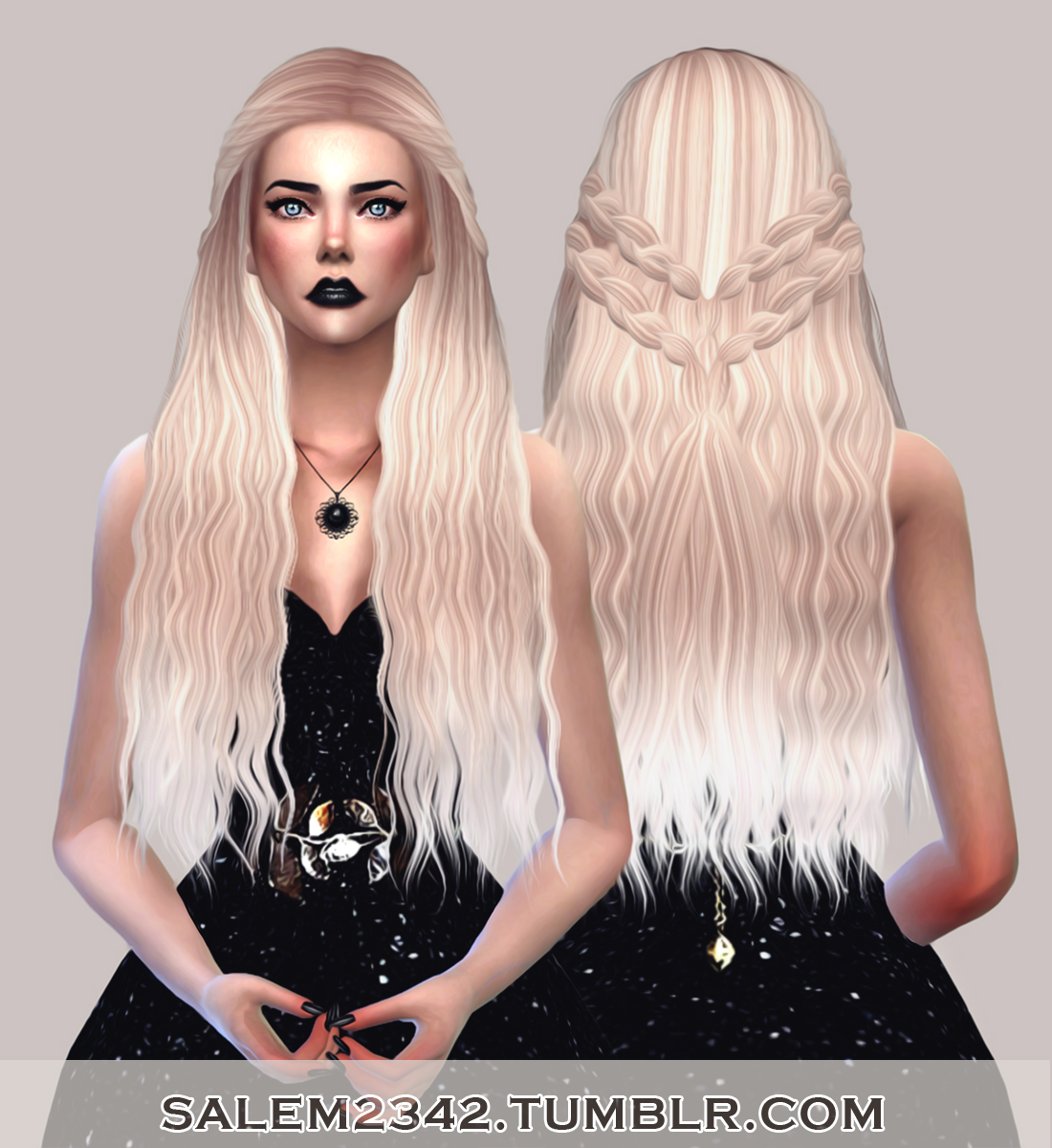 Stealthic Cadence Hair Retexture in 30 Colors by Salem2342