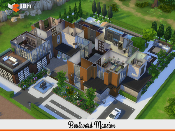 Boulevard Mansion by jeremy-sims92