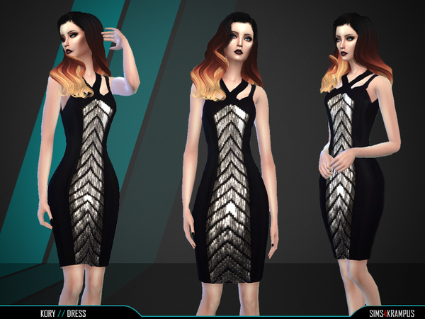 Kory Dress by SIms4Krampus