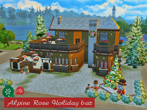 Alpine Rose holiday bar set by kinder10000