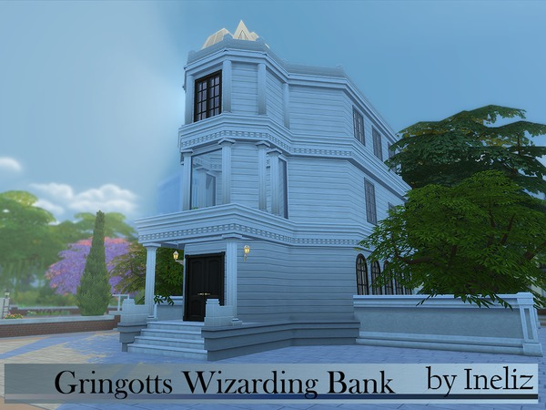 Gringotts Wizarding Bank by Ineliz