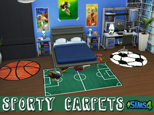 Sporty Carpets by Waterwoman