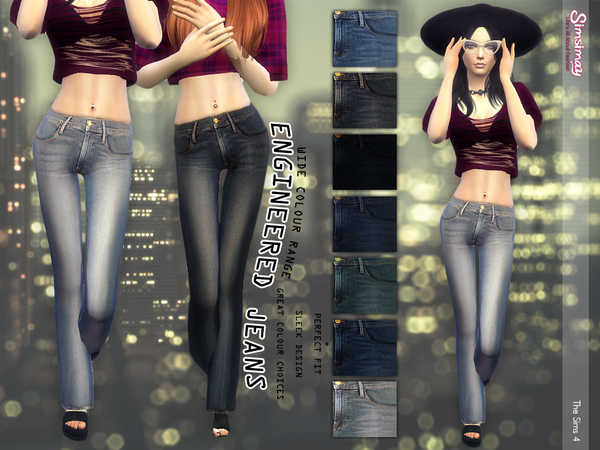 Engineered Jeans by Simsimay