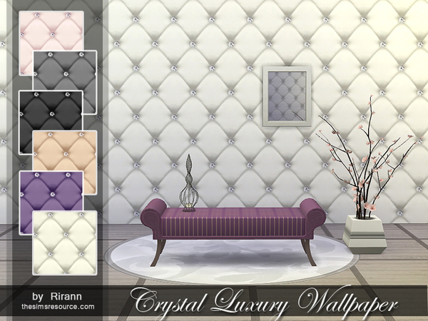Crystal Luxury Wallpaper by Rirann