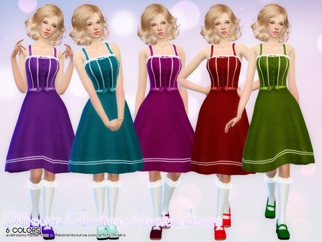 Dollhouse Collection - Azalea dress by Aveira