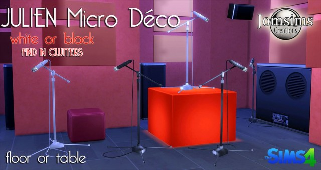 Julien micro deco by JomSims
