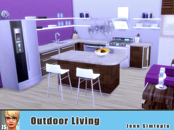 Outdoor Living by Jenn Simtopia