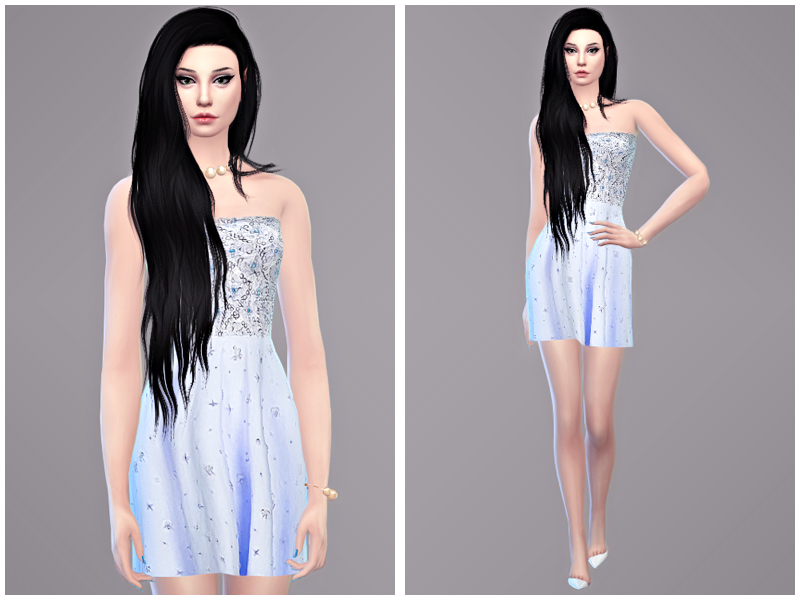 Caelie - Dress BY tangerinesimblr