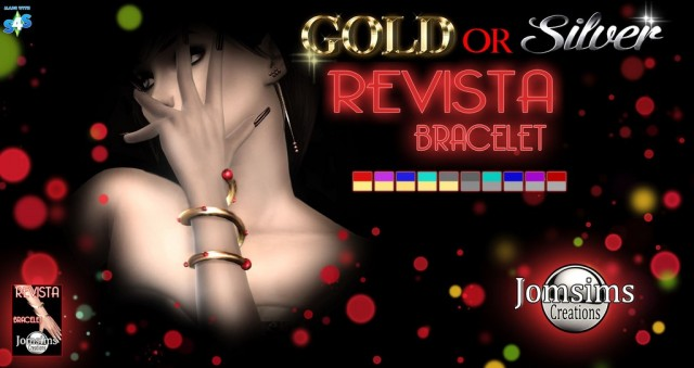 revista bracelet by JomSims