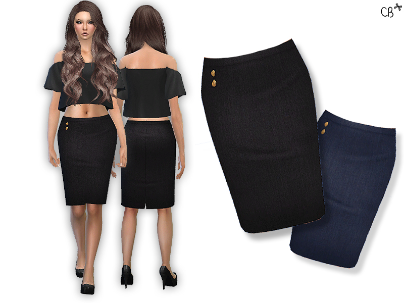 Pencil Skirt by CherryBerry