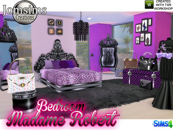 Madame robert Bedroom Baroque modern BY JOMSIMS