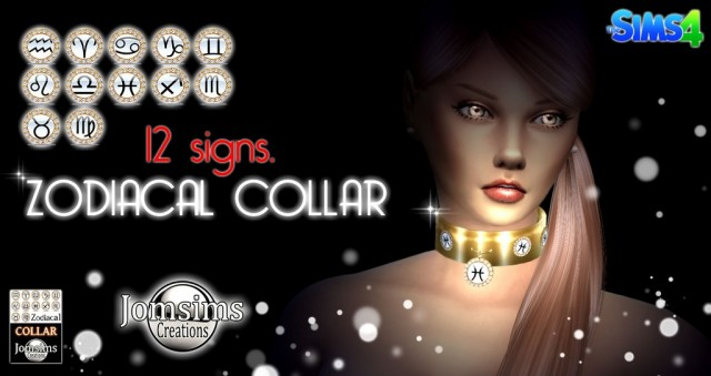 Zodiacal Collar by JomSims