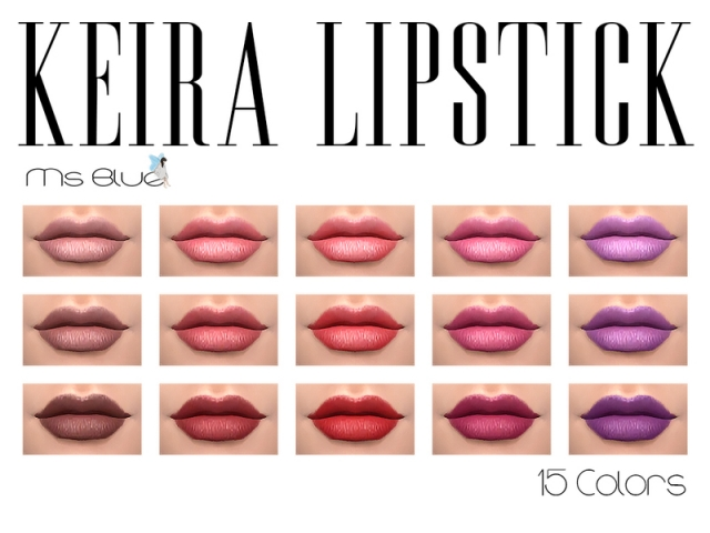 Keira Lipstick by Ms Blue