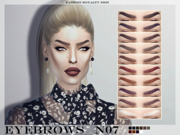 Eyebrows N07 by FashionRoyaltySims