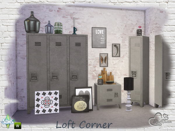 Loft Corner by BuffSumm