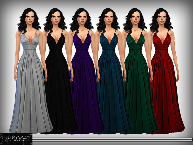 Silk Evening Gown BY DarkNighTt