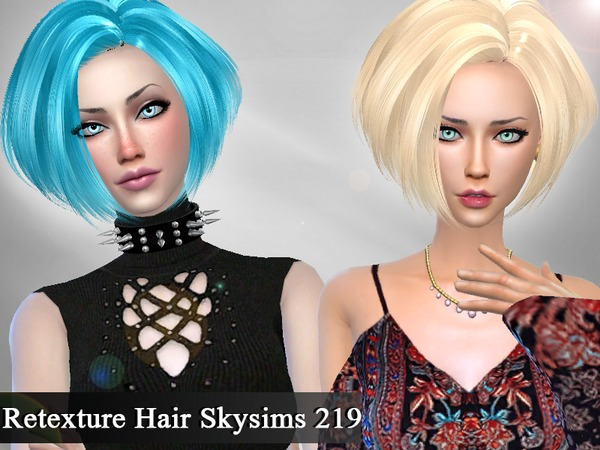 Retexture Hair Skysims 219 by Genius666
