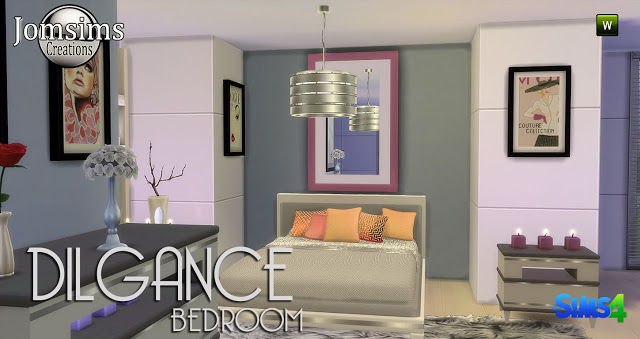 Dilgance Bedroom Set by JomSims