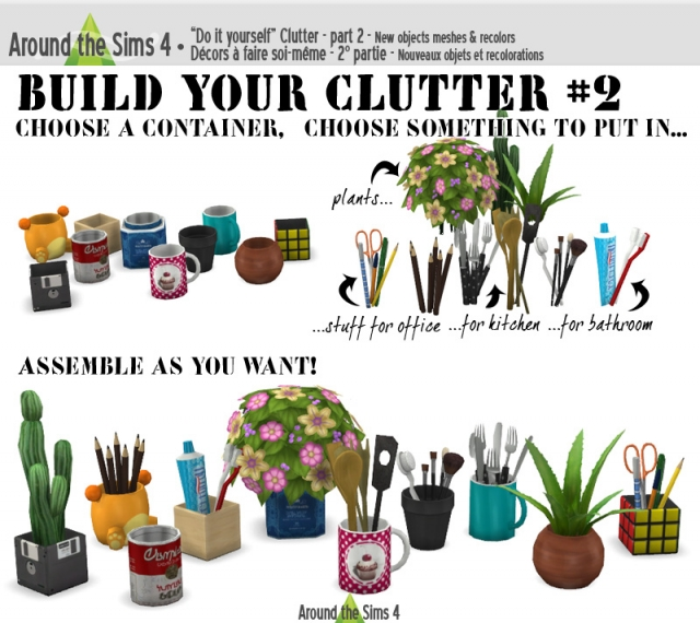 Build Your Clutter Set 2 by Sandy