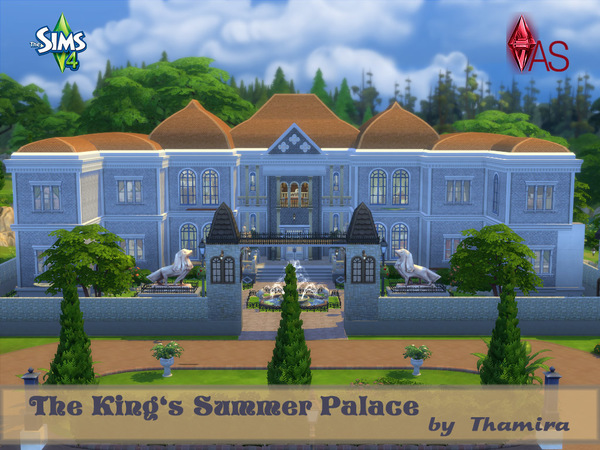 The King's Summer Palace by Thamira