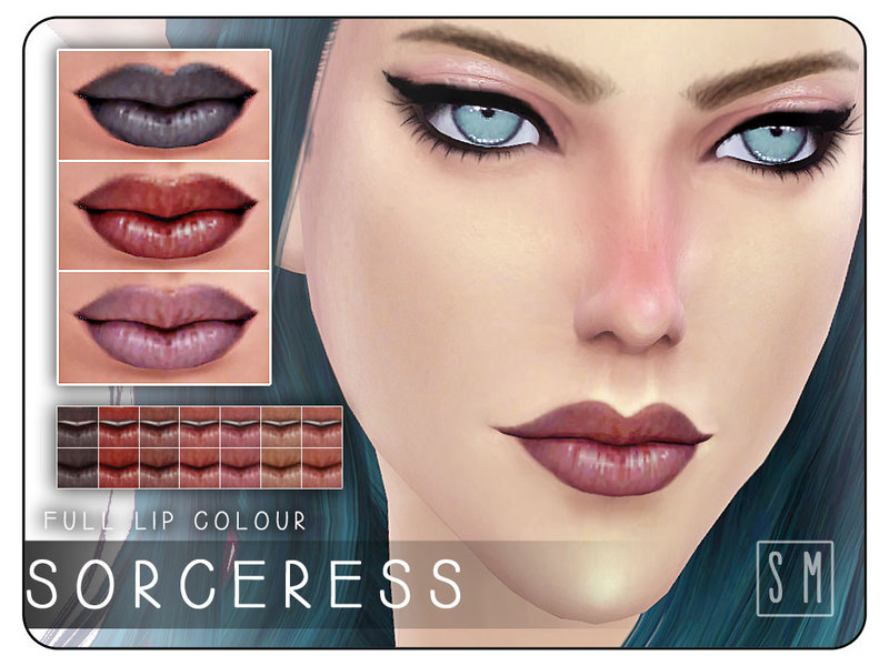 [ Sorceress ] - Full Lip Colour BY Screaming Mustard