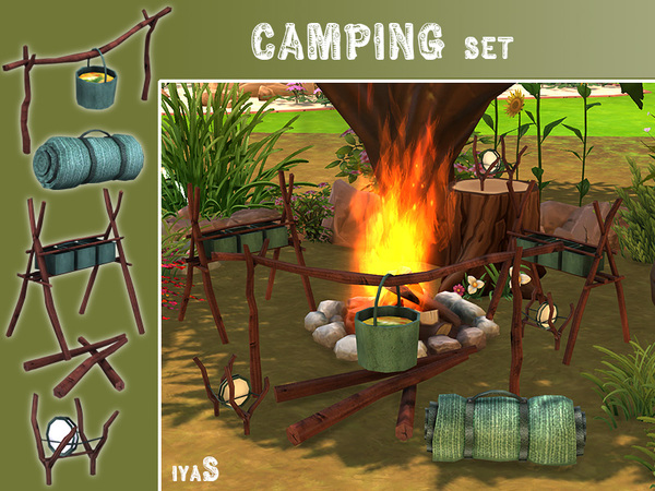 Camping set by soloriya