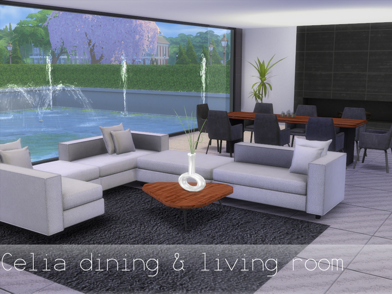 Celia dining and living room BY spacesims