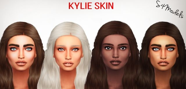 Kylie Skin Matte AND Highlighted by S4Models